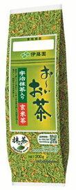 伊藤園 お〜いお茶 宇治抹茶入り玄米茶200g 茶葉 リーフ