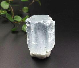ヒマラヤ産アクアマリン 結晶 マスコバイト付き (白雲母) ヒマラヤの清涼なエネルギー aq080