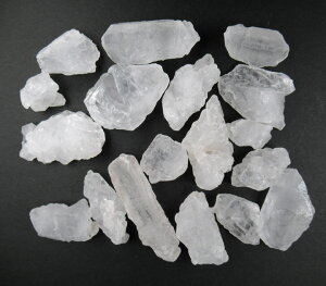 ヒマラヤ産アイスクリスタル小原石18〜22gセット(2〜3個)ニルヴァーナクォーツ 涅槃 地上で光が人の形をとる パワーストーン ice025