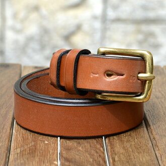 JABEZ CLIFF (Jabez Cliff) /STIRRUP LEATHER BELT 28 mm (strap leather belt)-OERT-