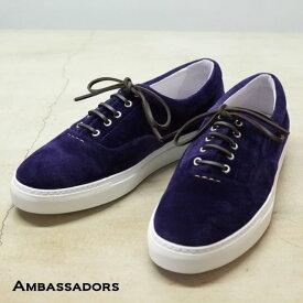 Ambassadors(アンバサダーズ)/VELVET Sneakers -MORADO/SOLE WHITE-