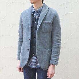 Harris Wharf London(ハリスワーフロンドン)/ Man Jacket Polaire -(140)middle grey-