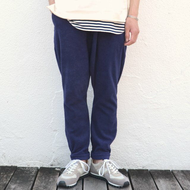 THING FABRICS(シング ファブリック)/ Button Fly Pant -Navy-
