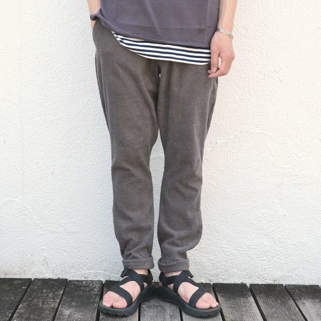 THING FABRICS(シング ファブリック)/ Button Fly Pant -Grey-