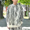 toogood(トゥーグッド)/THEDRAUGHTSMANSHIRTTOOTHPASTESTRIPE-COAL-