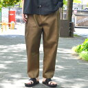 HED MAYNER(ヘド・メイナー) / Four pleat Pants -KHK-