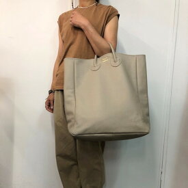 YOUNG&OLSEN(ヤングアンドオルセン) / EMBOSSED LEATHER TOTE L(4色展開)