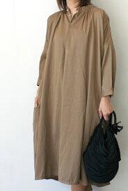 suzuki takayuki(スズキタカユキ)/slip-on dress l/s