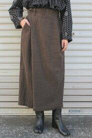 suzuki takayuki(スズキタカユキ)/wrapped pants I(2色展開)