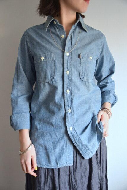 chimala(チマラ)/Chambray Work Shirt シャンブレーワークシャツ