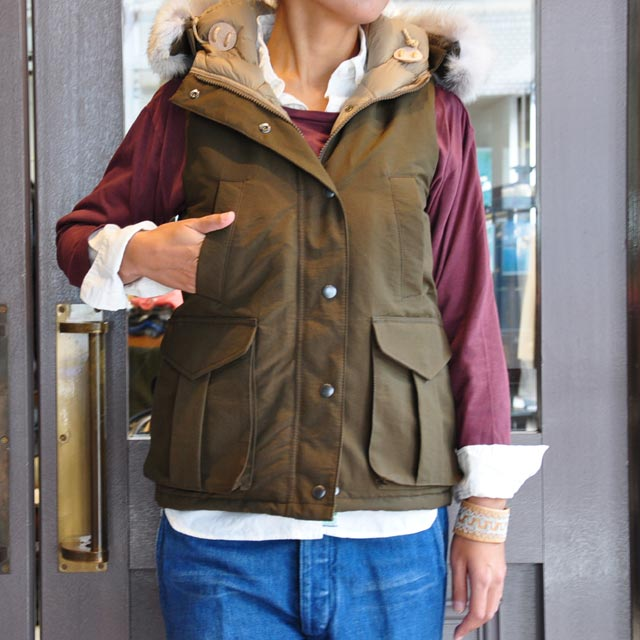 miusa(ミウサ) / HOODED 4 POCKET VEST