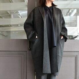 SOFIE D'HOORE(ソフィードール) / double-faced coat 2patched pockets(2色展開)