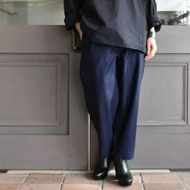 SOFIE D'HOORE(ソフィードール) / cropped casual pants with waist detail(2色展開)