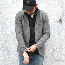 Harris Wharf London(ハリスワーフロンドン)/ Man Jacket Interlock -(140)middle grey-