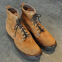 GRIZZLY BOOTS (グリズリー ブーツ)/Black Bear -Brown Rough Out-