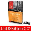 【新登場】(NEW)オリジン キャット&キトゥン(340g)全年齢/全猫種用【6/21以降順次出荷】