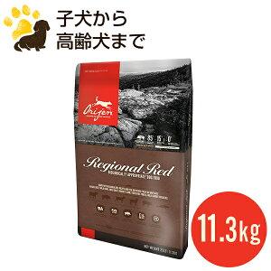 オリジン レジオナルレッド ドッグ 11.3kg (正規品) 総合栄養食 全年齢用 ドッグフード 賞味期限2021.4.24