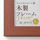 木製フレーム(A3・A2サイズ)選べる5色 [ポスターウェルカムボード用 木製フレーム] ポスター 写真 披露宴 結婚式 …