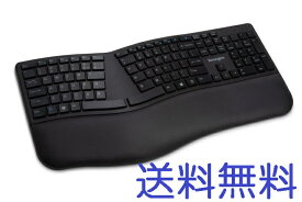 送料無料 Pro Fit Ergo Wireless Keyboard ケンジントン プロフィット エルゴ バーチャル ワイヤレス キーボード Bluetooth 在宅勤務 テレワーク