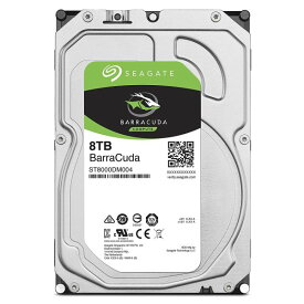 送料無料 シーゲイト BarraCuda 3.5 HDDシリーズ 3.5inch SATA 6Gb/s 8TB 5400rpm 256MB 4Kセクター