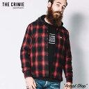 先行予約 クライミー CRIMIE オンブレチェックシャツ OMBRE CHECK SHIRT CR1-02L5-SL09 オンブレ チェック ネルシャツ…
