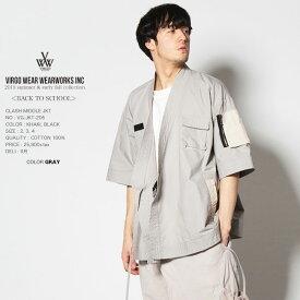 30%OFF VIRGO ヴァルゴ DOUGI SHIRTS JKT シャツジャケット 日本製 vg19sa (対象外)