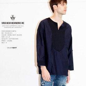 先行予約 VIRGO ヴァルゴ VGW DASHIKI SHIRTS ダシキシャツ 日本製 vg19aw 10月 (星)
