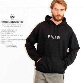 VIRGO ヴァルゴ VGW SOLID HOODIES スエットパーカー 日本製 vg19aw (星)