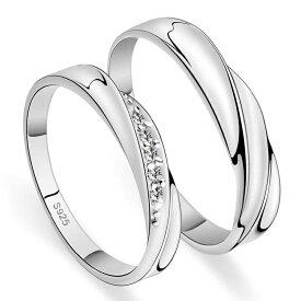メンズorレディース 単品 リング 純銀 シルバー 925 指輪 女性用には上質クリスタル ラウンドシングルカット Vカットストーン リング ラグジュアリー ラブリング送料無料 ブランド トラベルジュエリー