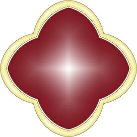 ミル黄金花 2連 イヤリング 2花 赤レッド レディース フラワーモチーフ クローバー 3カラー ブランド トラベルジュエリー