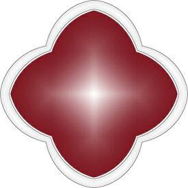 ミル黄金花 2連 ピアス クローバー 2花 赤レッド レディース フラワーモチーフ クローバー 3カラー ブランド トラベルジュエリー ピンクゴールド追加