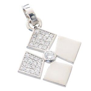 メンズ ペンダントトップ プラチナ Pt900 ダイヤモンド 日本製 刻印入り 鑑別書付き