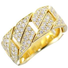 指輪 メンズリング 18金 喜平 ゴールド ダイヤモンド 幅広 刻印入り 男性用 日本製 刻印入り 鑑別書付き ごつい 太め 大きいサイズ 作製可能