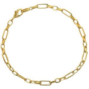 ブレスレット 24金 メンズ K24 24K ゴールド 7g 20cm 地金 チェーン 日本製 刻印入り 長さ指定可能 ユニセックス 男女兼用 純金