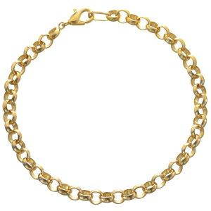 ブレスレット 24金 メンズ K24 ゴールド 15g 20cm 地金 チェーン 日本製 刻印入り 長さ指定可能 ユニセックス 男女兼用 純金