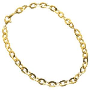 ブレスレット 24金 メンズ K24 24K ゴールド 6g 19cm 地金 チェーン 日本製 刻印入り 長さ指定可能 ユニセックス 男女兼用 純金