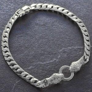 喜平 ブレスレット 純プラチナ メンズ Pt999 25g 21cm ダイヤモンド 蛇 スネーク 日本製 刻印入り 長さ指定可能 キヘイ 男性用 5mm幅 手造り