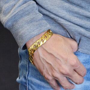 喜平 ブレスレット K24 24K メンズ 純金 24金 ゴールド 79g 20cm 日本製 刻印入り 長さ指定可能 男性用 キヘイ 12mm幅 手造り