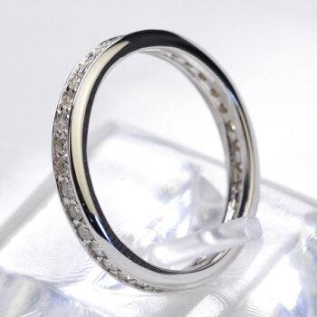 【送料無料】選べる3カラー(YGPGWG)計0.50ctダイヤモンドフルエタニティリング(指輪)