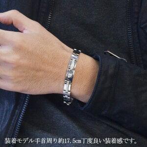 ブレスレット メンズ プラチナ ダイヤモンド Pt900 61g 20cm 日本製 刻印入り 鑑別書付き 男性用 長さ指定可能 地金