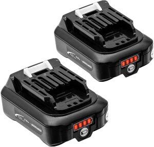 マキタ BL1015B マキタ互換バッテリー 10.8V / 12V 3.0ah 残量表示付 2個セット power 充電器別売り