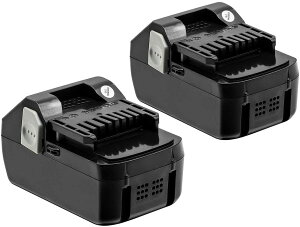 日立 18v 互換バッテリー BSL1860 互換バッテリー18v 6000mAh 2個セット