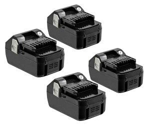 日立 18v 互換バッテリー BSL1860 互換バッテリー18v 6000mAh 4個セット