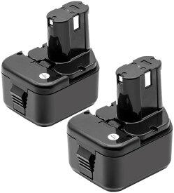 日立12v互換バッテリー 日立工機バッテリー12v 3.0Ah 2個セット eb1214S EB1214L EB1220BL EB1212S