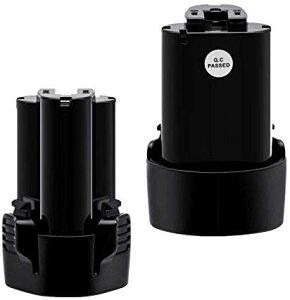 マキタ互換バッテリー BL1013 10.8 v 3.0Ahマキタ 10.8V 互換バッテリー電動工具用電池 BL1030 BL1014 194550-6 194551-4 195332-9に対応 2個セット power