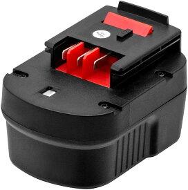 Black&Decker A12 A12EX HPB12互換 バッテリー 12V 3000mAh ブラックアンドデッカー 12Vバッテリー スライドバッテリー BD1204Lニッケル水素電池 power