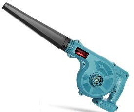 充電式ブロワー(青色) 18Vマキタバッテリー使用可能 コードレスブロワー 無段階風量調整 電動工具 充電式 コードレス 集じん機能付き 集塵 掃除機 (バッテリー別売り)