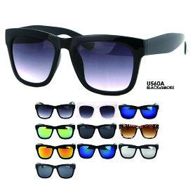 ウェリントン サングラス レディース メンズ u560 UVカット