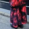 Lady's men loud kava individual psychedelic colorful dance bureau clothes hip-hop girls ACDC RAG of fashion punk rock V of bleach D underwear wide underwear tie-dyeing irregularity dyeing tie-dyeing Harajuku origin origin