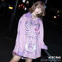 タレロリポップ シャツ 長袖 パンク ロック V系 ファッション バンギャ 原宿系 原宿 韓国 ピンク 病み 病みかわいい …